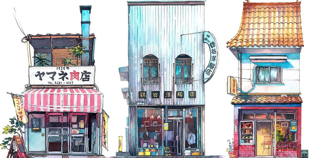 Tokyo Storefronts, de Mateusz Urbanowicz destacada - El Palomitrón