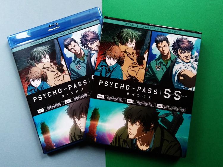 edición Blu-ray de Psycho-Pass Sinners of the System Galería 2 - El Palomitrón
