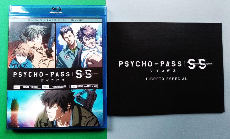edición Blu-ray de Psycho-Pass Sinners of the System Galería 3 - El Palomitrón