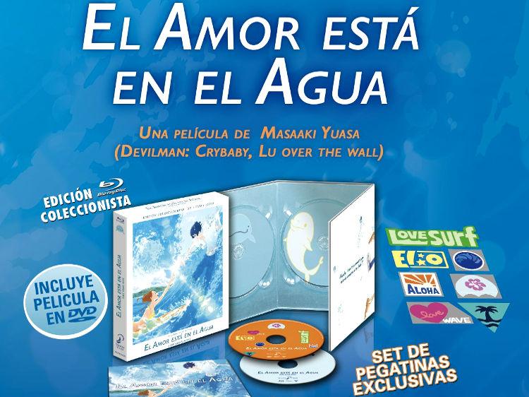 edición coleccionista de El amor está en el agua Galería 1 - El Palomitrón