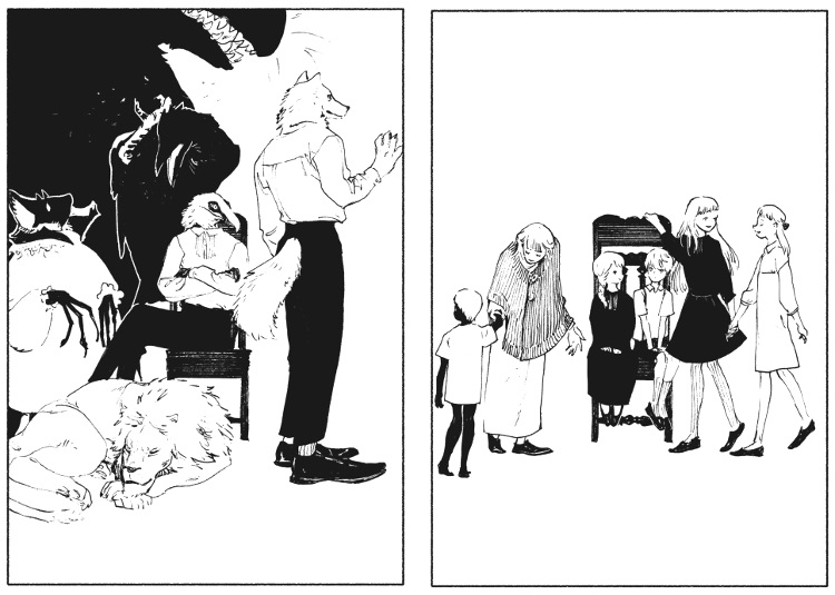 Reseña de Historias cortas de Nagabe personajes - El Palomitrón