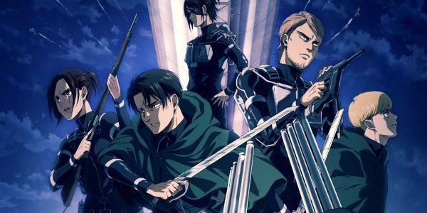 Shingeki no Kyojin S4 Episodios, fecha y tráiler de la última temporada de AOT personajes destacada - El Palomitrón