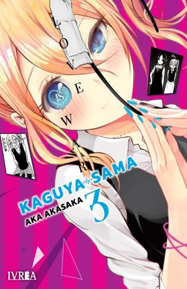 Lanzamientos Editorial Ivrea febrero 2021 Kaguya-sama - El Palomitrón
