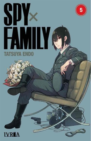 Lanzamientos Editorial Ivrea febrero 2021 Spy x Family - El Palomitrón