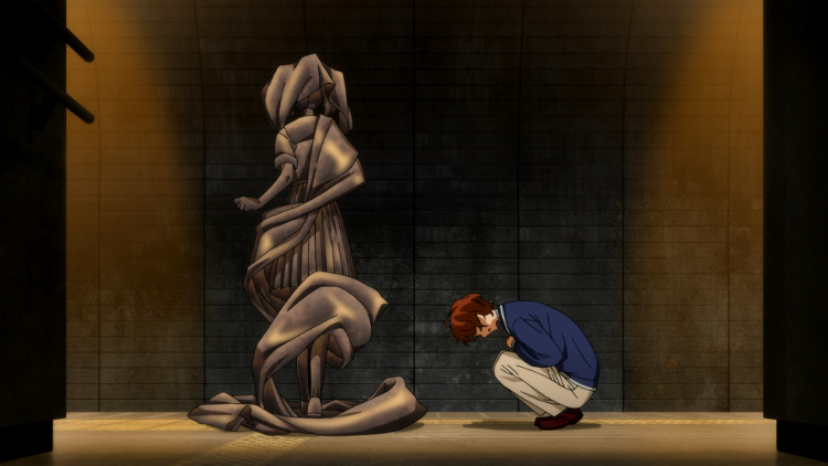 Crítica de Wonder Egg Priority estatua - El Palomitrón
