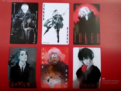 artbook Tokyo Ghoul Zakki re galería 12 - El Palomitrón