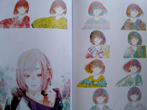 artbook Tokyo Ghoul Zakki re galería 8 - El Palomitrón