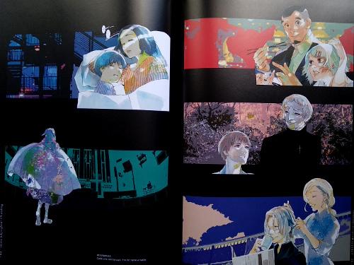 artbook Tokyo Ghoul Zakki re galería 9 - El Palomitrón