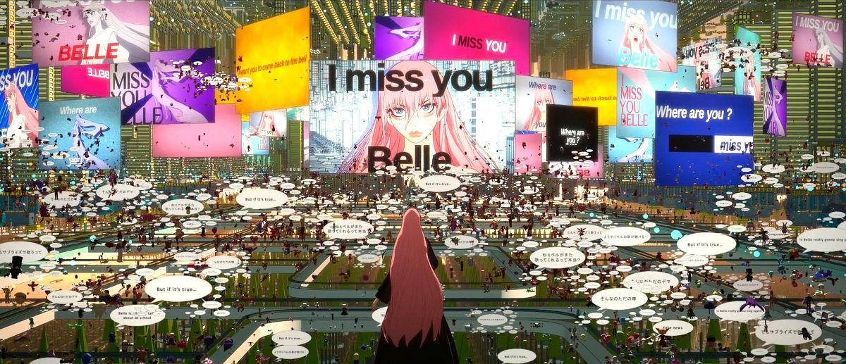 Fecha de estreno y tráiler de Belle, la nueva película de Mamoru Hosoda destacada frame - El Palomitrón