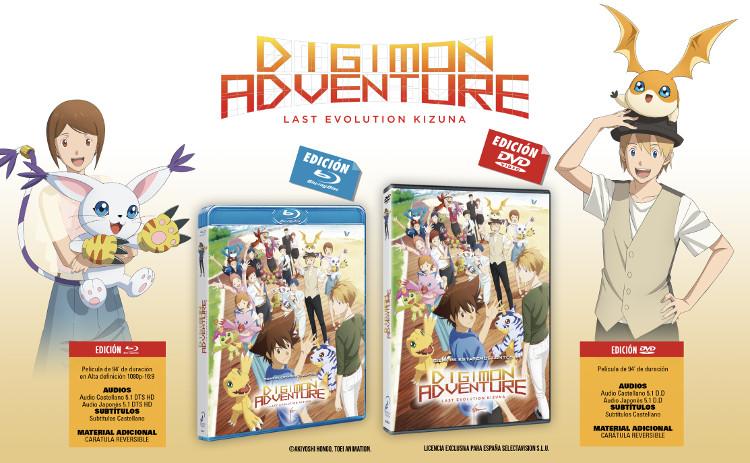 Lanzamientos Selecta Visión mayo 2021 Digimon Adventure Last Evolution Kizuna - El Palomitrón