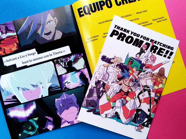 edición coleccionista de Promare Galería 5 - El Palomitrón