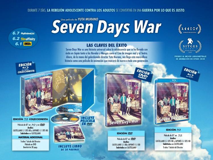 edición coleccionista de Seven Days War Galería 1 - El Palomitrón