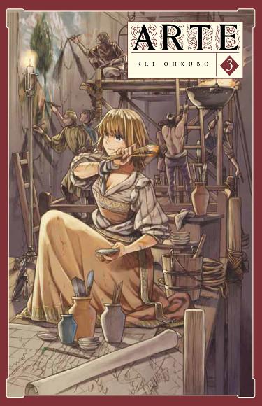 Lanzamientos Arechi Manga mayo 2021 Arte - El Palomitrón