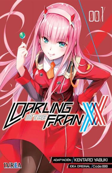 Lanzamientos Editorial Ivrea mayo 2021 Darling in the Franxx - El Palomitrón