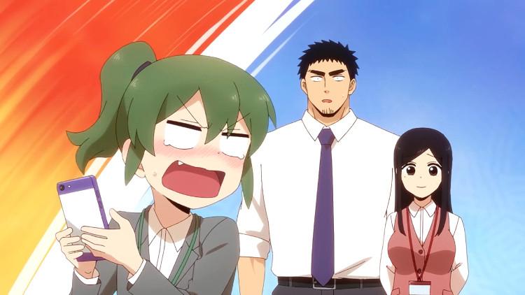Fecha de estreno y tráiler del anime de My Senpai Is Annoying personajes - El Palomitrón