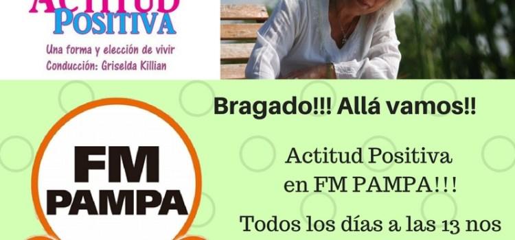 Actitud Positiva en Bragado!!!