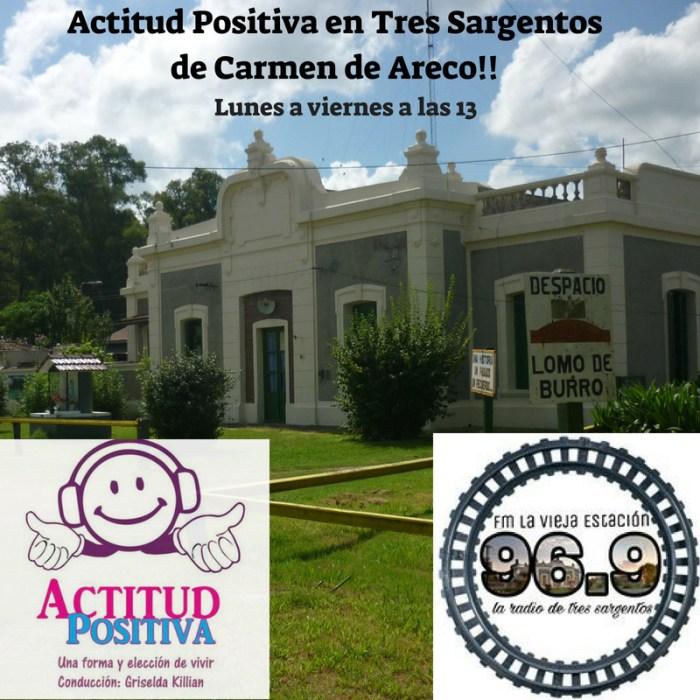 Actitud Positiva en Tres Sargentos, Partido de Carmen de Areco, Pcia. de Buenos Aires