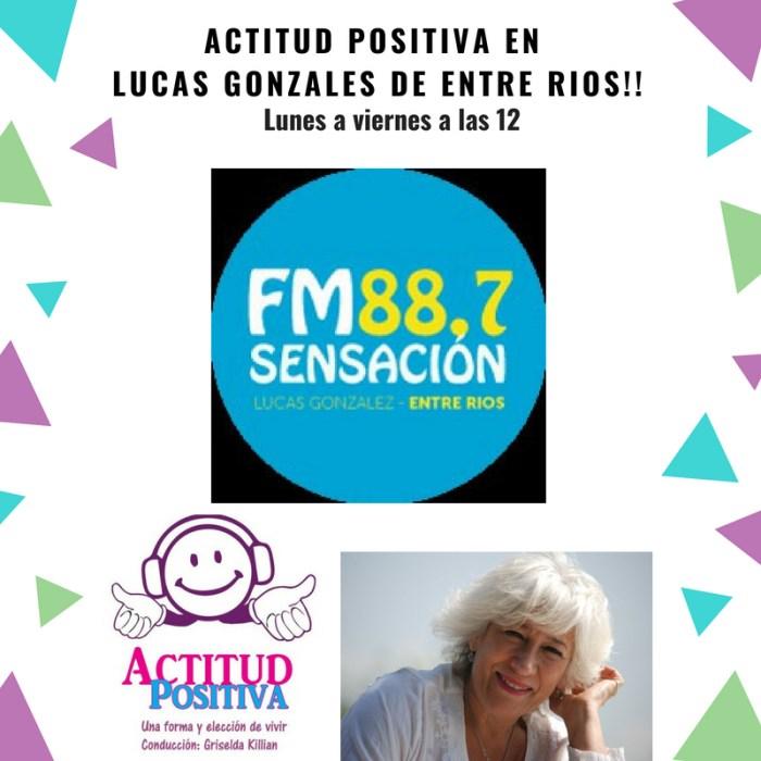 Actitud Positiva en Lucas Gonzalez, Entre Ríos