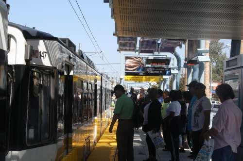 Pronostican que la Línea Expo será una de las más ocupadas de todo el sistema de trenes Metro. (Foto Agustín Durán/El Pasajero).