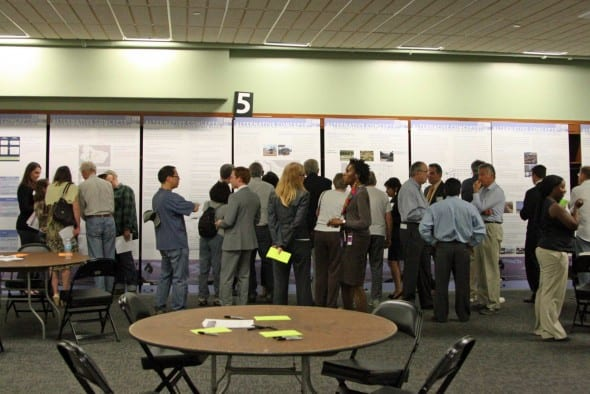 Ultima reunión sobre el Estudio SR-710 llevado a cabo la semana pasada  en Pasadena. (Foto Daniel Maguire/Metro).