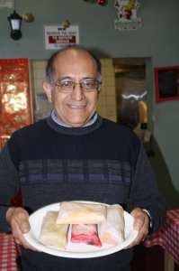 José Hernández, esposo de Justina Hernández, la dueña de la receta del famoso tamal tapatío. (Foto de Agustín Durán/El Pasajero).