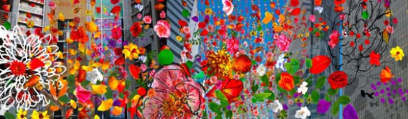 Propuesta de arte de Constance Mallinson para la estación Olympic/26th Street.
