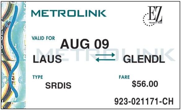 Metrolink TAP 2