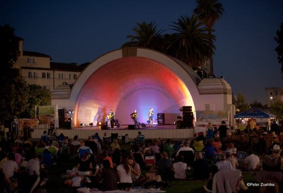 Levitt Pavilion de Pasadena. Foto: Peter Zuehlke.