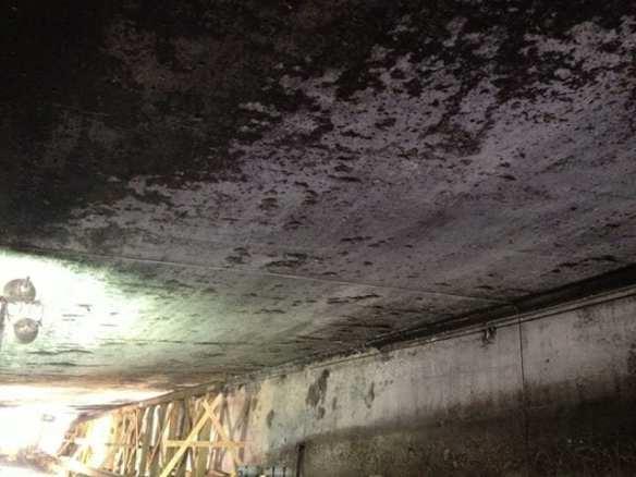 túnel quemado