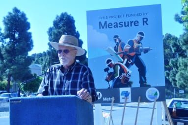 El alcalde interino de Malibu, John Sibert.