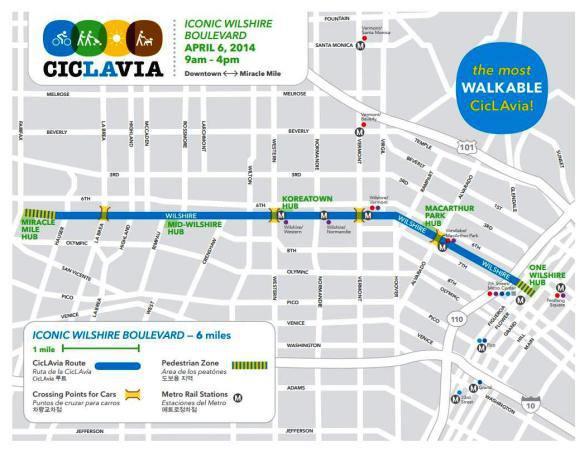 CicLAvia mapa
