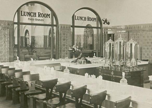Salón de almuerzos