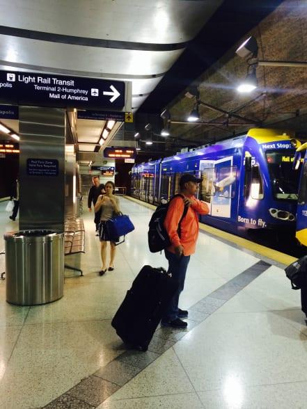 La estación Lindbergh de la Terminal 1. Foto: Joseph Lemon.