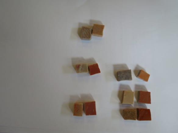 Mosaicos que se utilizaron para ensamblar la obra. Foto: Perdomo Studio.