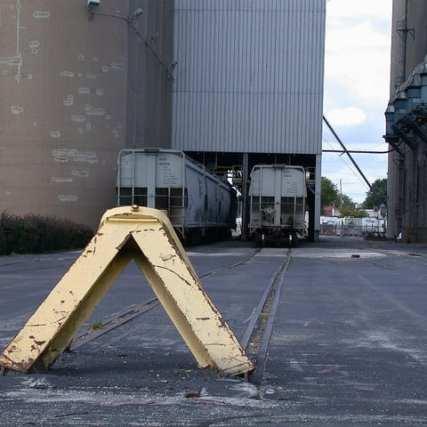 Barreras en Wisconsin. Fotos: Mike_rail scenes via Flickr.