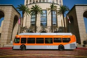 Nuevo autobús de New Flyer.