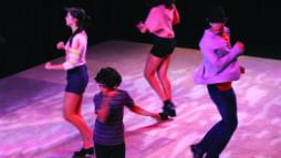 Danza de tap en la escuela Colburn. Foto: Facebook.