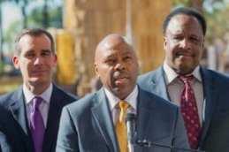 El nuevo director general ejecutivo de Metro, Phil Washington.