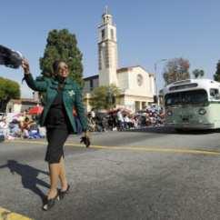 Desfile en LA en honor de MLK>