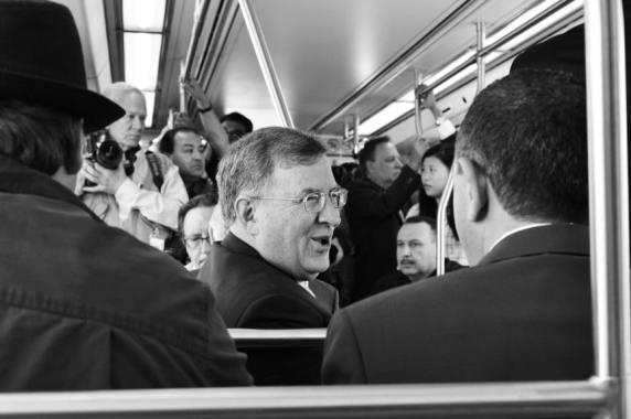 John Fasana, alcalde de Duarte y miembro de la Junta Directiva de Metro. Fotos: Steve Hamon/Metro.