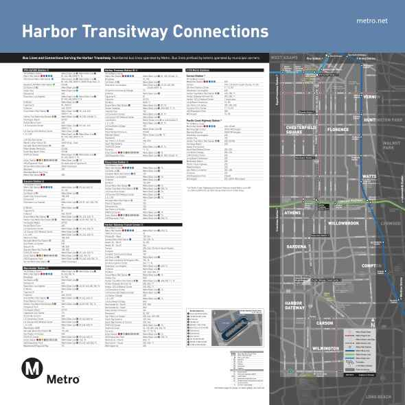 harbor transit conections