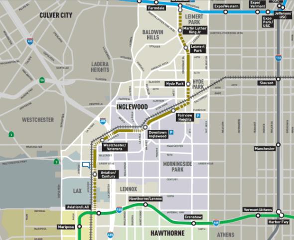 crenshaw-line-map