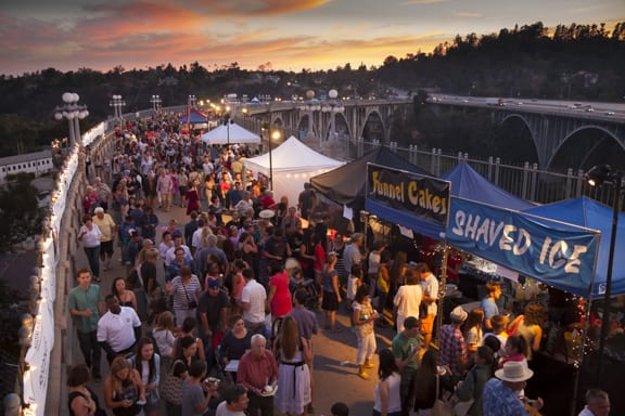 Colorado Street Bridge Party 2014