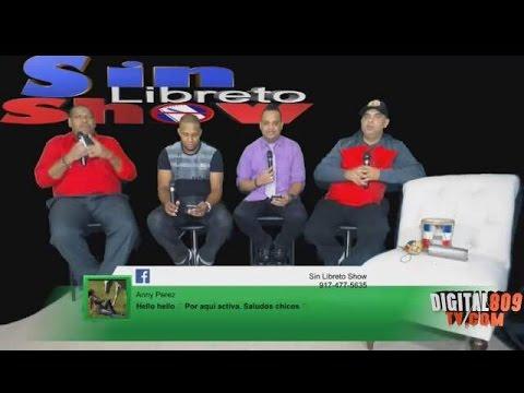 Sin Libreto Show @SinLibretoShow EP30 Rey John Y Jiory Con Jaudy Digital809tv.com