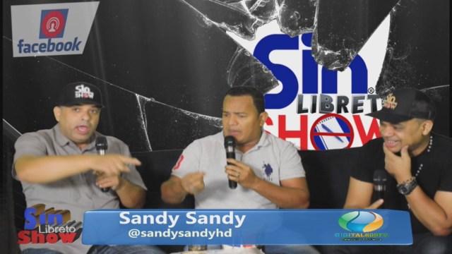 Sin Libreto Show EP55 Entrevista A Sandy Sandy @SandySandyHD Digital809tv.com @SinLibretoShow