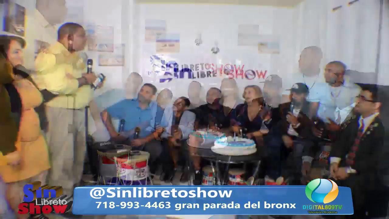 Sin Libreto Show EP63 Atomic Otro Way Y La Gran Parada Dominicana Del Bronx