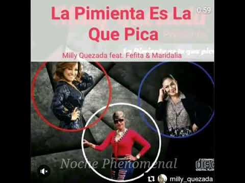 Fefita La Grande,Milly Quezada y Maridalia Hernadez y -La Pimienta Es La Que Pica