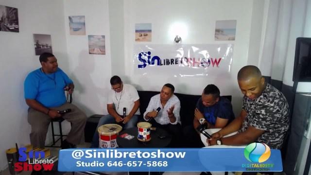 Sin Libreto Show Ep71 Bony Bufalo Papa JS Digital809tv.com @SinLibretoShow