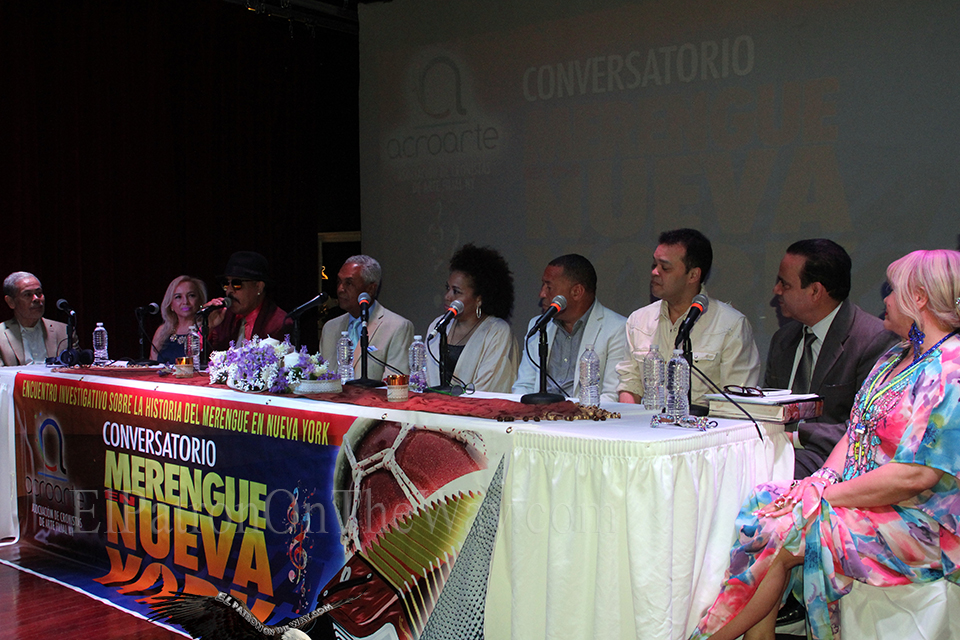 Conversatorio De Merengue En Nuw York 5-30-18