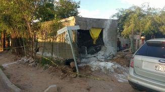 domicilio de la colonia Internacionalcon daños por choque de vehículo que contaba con reporte de robo (2)